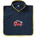 Playshoes Frottee-Poncho Feuerwehr