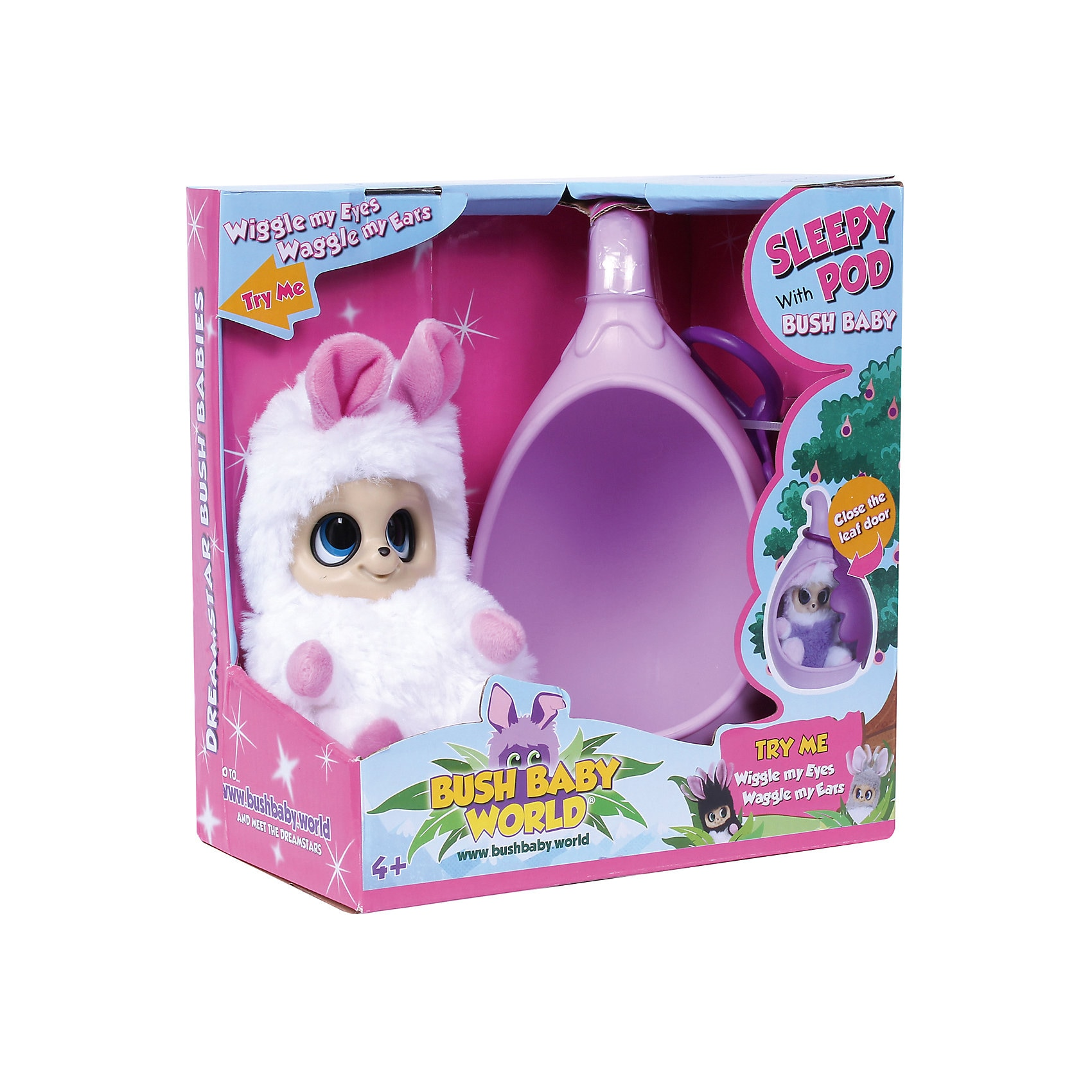 Spectron Toys Bush Baby World Sleepy Pod Sasu
