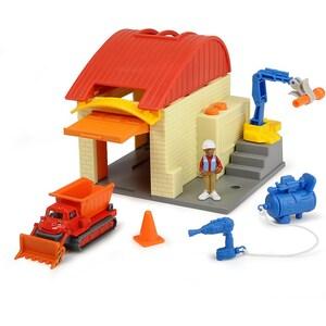 Dickie Toys Bob der Baumeister Garagen Spielset mit Lofty Wendy