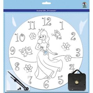 Ursus Ausmal-Uhr Prinzessin