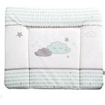 Roba Wickelauflage Happy Cloud mint taupe 85 x 75 cm