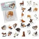 Lutz Mauder Verlag Mini-Tattoo-Set Pferde 24-tlg.