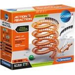 Clementoni Action Reaction - Spiral-Schienen Falltür und Leitplanken