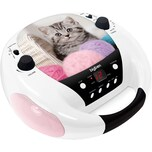 bigben CD-Player mit Radio CD52 Cats