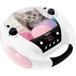 bigben CD-Player mit Radio CD52 Cats