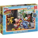 Jumbo Bodenpuzzle 50 Teile Mickey und die flinken Flitzer