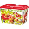 écoiffier Spiellebensmittel Hamburger Set