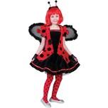 Funny Fashion Kostüm Marienkäfer-Kleid