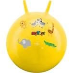 myToys Hüpfball Zootiere gelb