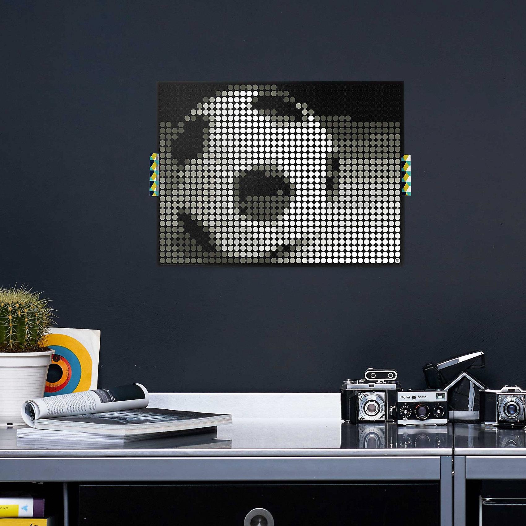 dot on art - fußball 30 x 40 cm