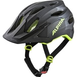 Alpina Fahrradhelm Carapax Jr.Black-Neon-Yellow