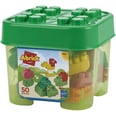 Écoiffier Abrick Box mit 50 Tierbausteinen