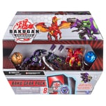 Spin Master Bakugan Baku-Gear Pack mit 4 Armored Alliance Bakugan 2 Ultra 2 Basic Balls und 1 Set B