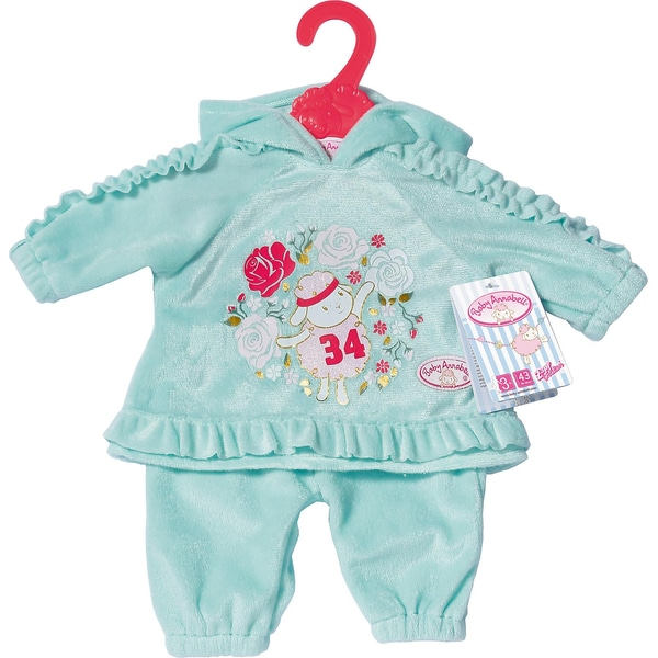 Zapf Creation Baby Annabell Baby Anzug Mint 43cm Puppenkleidung