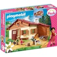 Playmobil 70253 Heidi und Großvater auf der Almhütte