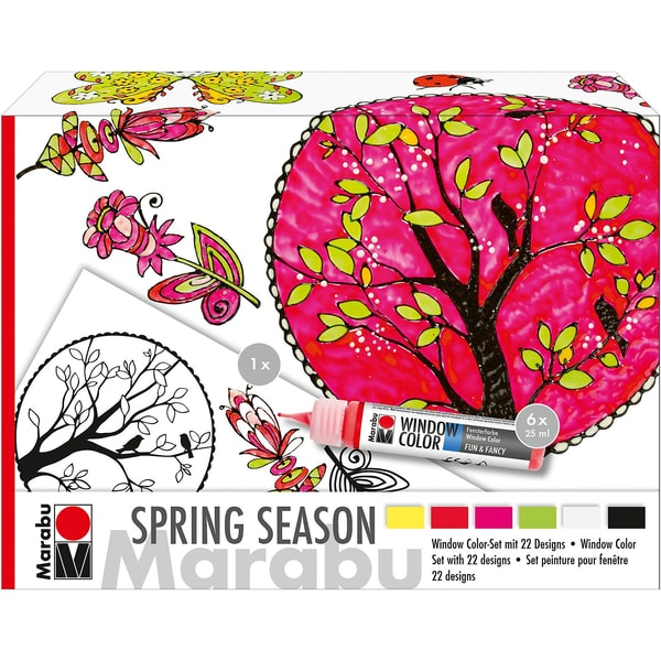 Marabu Window Color Set Spring Season