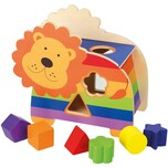 Orange Tree Toys Holzspielzeug Formensortierspiel Löwe 46029