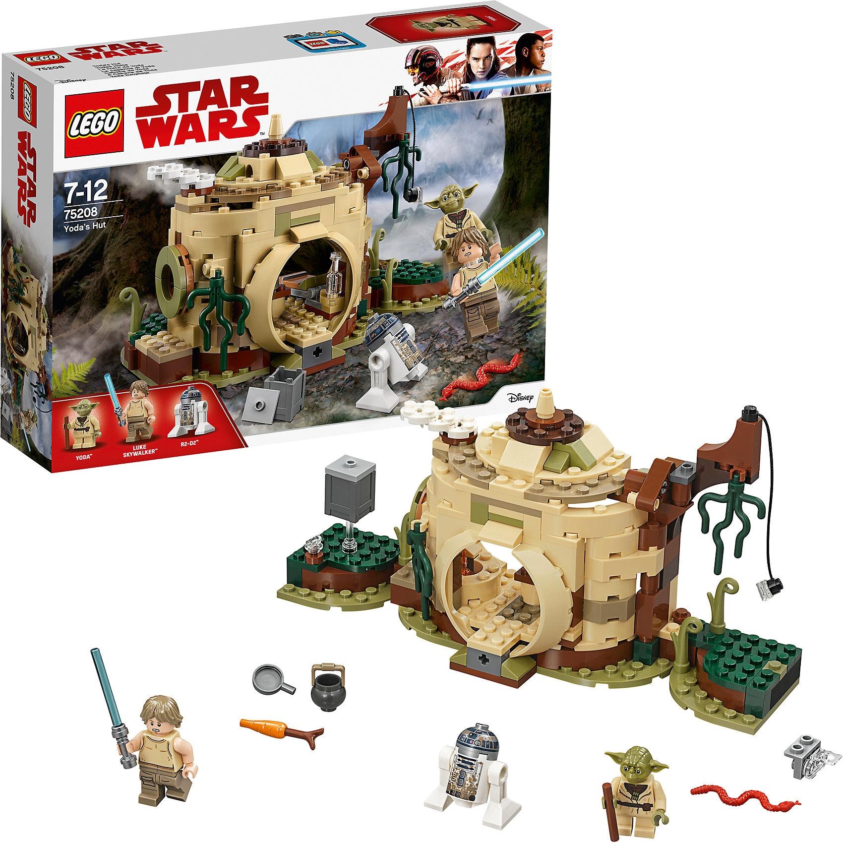 Lego Star Wars 75208 Yodas Hütte