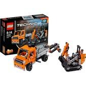 LEGO LEGO 42060 Technic: Straßenbau-Fahrzeuge