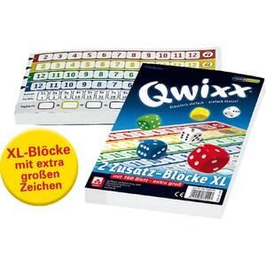 Nürnberger Spielkarten Qwixx XL Zusatzblöcke 2er