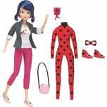 BANDAI Miraculous Puppe 26 cm mit Bekleidung