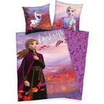 Herding Bettwäsche Disney's Die Eiskönigin 2 Renforcé 135 x 200 80 x 80 cm