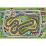 ACHOKA® Spielteppich Stadtrennsport 80x120 cm