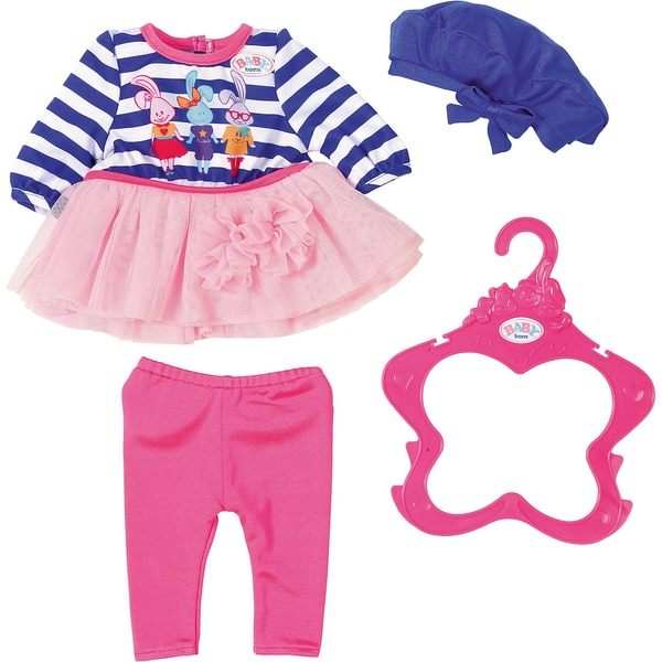 Zapf Creation Baby Born Fashion Kollektion BlauWeiß gestreift