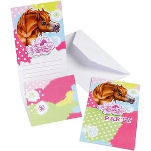 Riethmüller Einladungskarten Charming Horse 6 Stück inkl. Umschläge