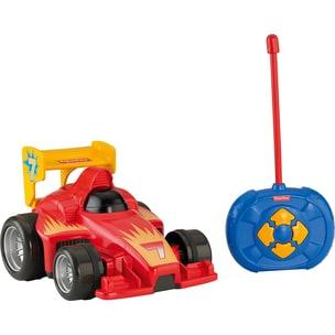 Mattel Fisher-Price Fernlenkflitzer ferngesteuertes Auto Kinder Spielzeug-Auto