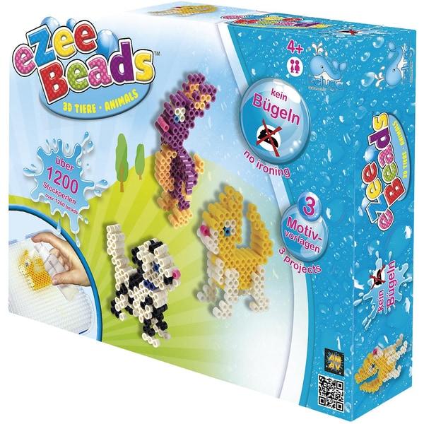 Beluga eZee Beads Sprühperlen 3D-Tiere 1.200 Perlen