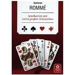 ASS Senioren-Rommé Französisches Clubbild Spielkarten