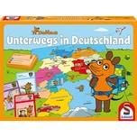 Schmidt Spiele Die Maus Unterwegs in Deutschland 2 Spiele
