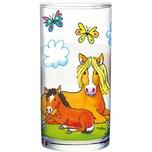 Lutz Mauder Verlag Trinkglas Mein Ponyhof