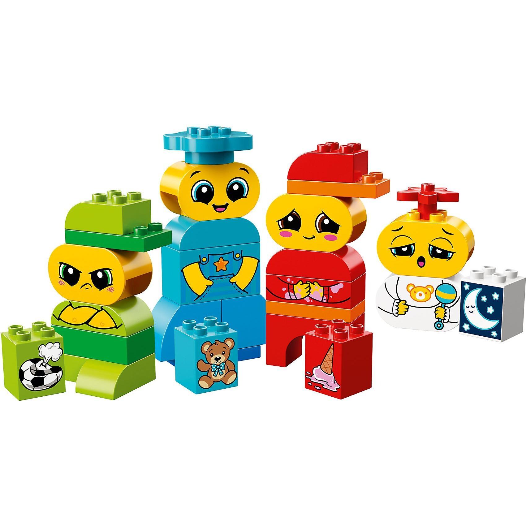 Lego Duplo 10861 Meine ersten Emotionen Gefühle erklären