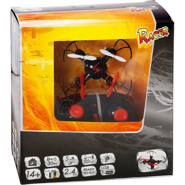 The Toy Company RC Racer 4-Kanal Drone 2.4 GHz
