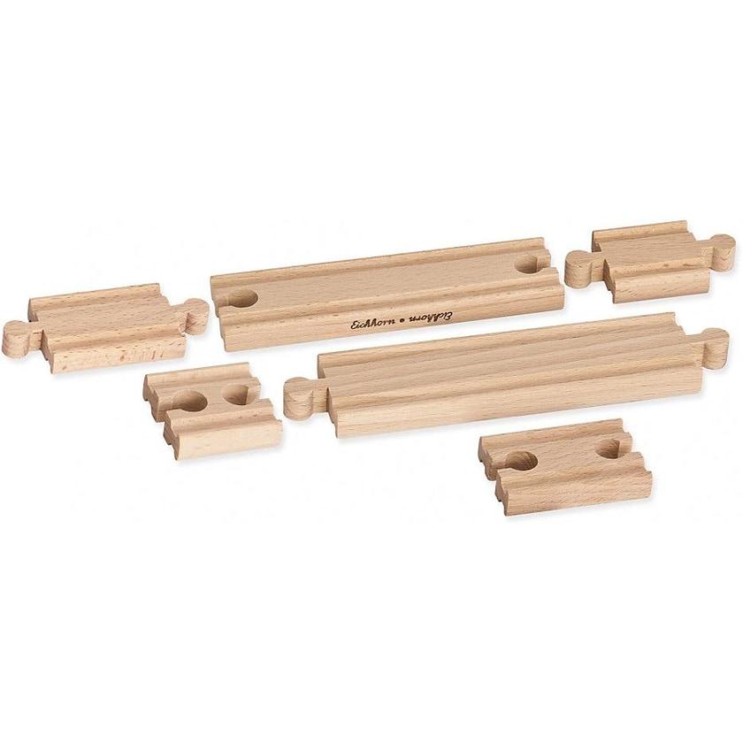 Eichhorn Holz-Ausgleichsschienen-Set 6 tlg.