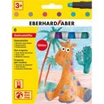 Eberhard Faber Mini Kids GelmalstifteFenstermaler 6 Glitter-Farben
