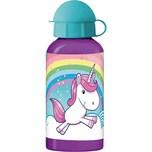 P:OS Alu-Trinkflasche Einhorn 400 ml