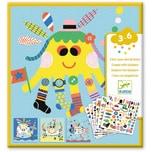 DJECO Sticker - Stickerbilder Meerestiere