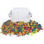 Playbox Steckmosaik Großpackung 1.700 Stück 6 kleine Platten