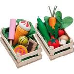 Erzi Exklusiv Set Sortimente Gemüse Süßwaren