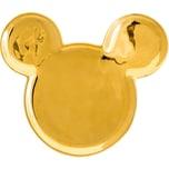 Joy Toy Mickey Mouse Ohren Keramik Teller Deluxe Gold