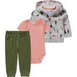 carter`s Baby Set Sweatjacke Body Sweathose für Jungen