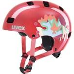 Uvex kid 3 Fahrradhelm coral