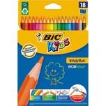 BIC Kids Evolutions Buntstifte 18 Farben