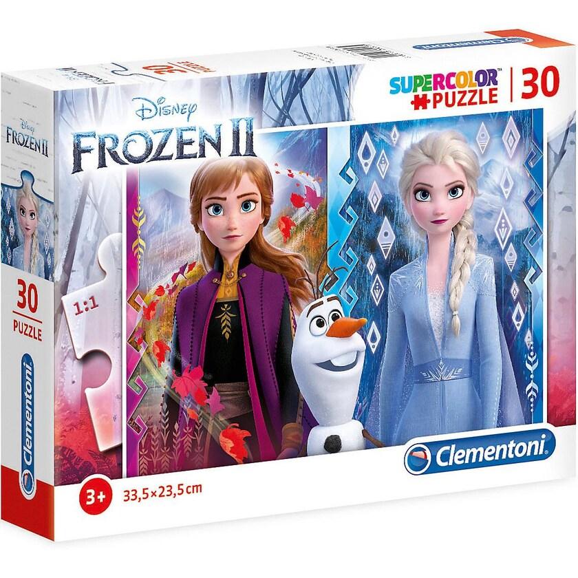 Clementoni Puzzle 30 Teile Supercolor Die Eiskönigin 2