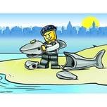 LEGO CD City 10 Küstenwache: Haie vor LEGO City