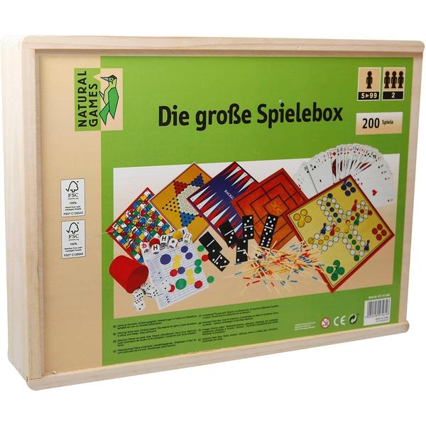 Natural Games Holz-Spielesammlung