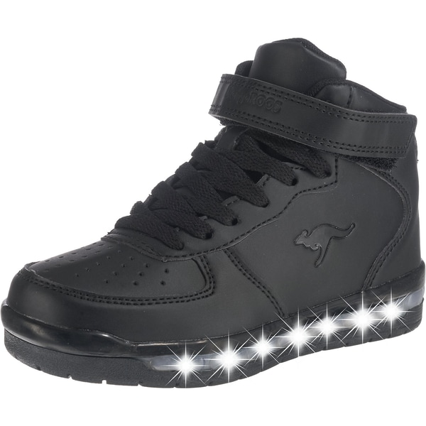 Kangaroos Kinder Sneakers High K-Lid Blinkies Mit Led-Sohle